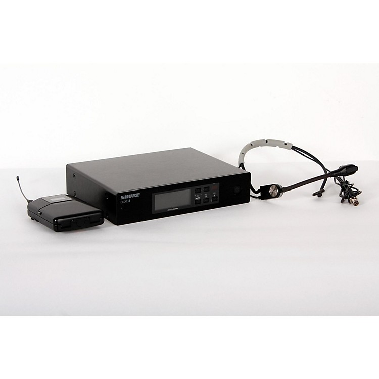 Shure QLX-D Digital Wireless System with SM35 Condenser Headset Microphone Band J50 888365844343
