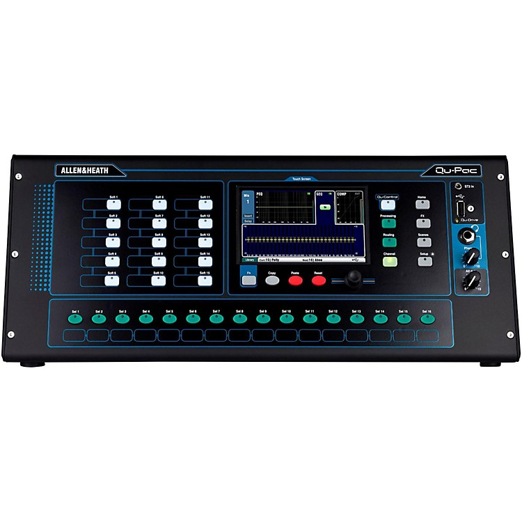 Allen & HeathQU-PAC Ultra Compact Digial Mixer with Touchscreen Control