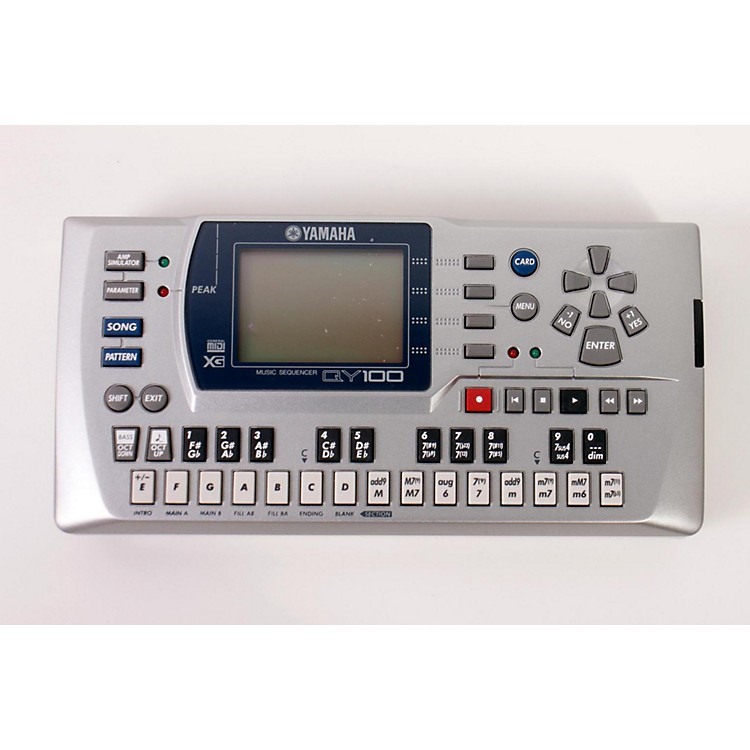 Yamaha QY100 Sequencer Accompaniment Tool  886830263491
