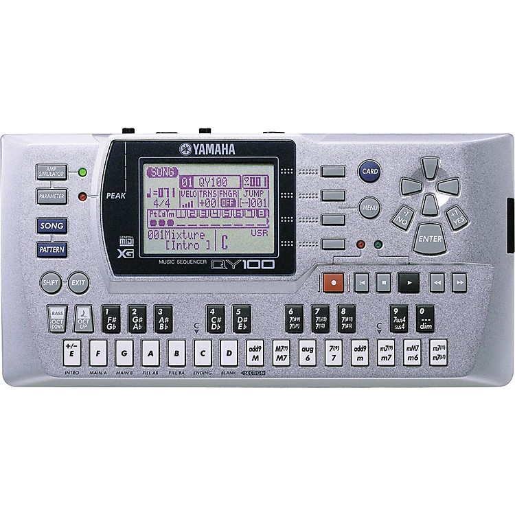 Yamaha QY100 Sequencer Accompaniment Tool
