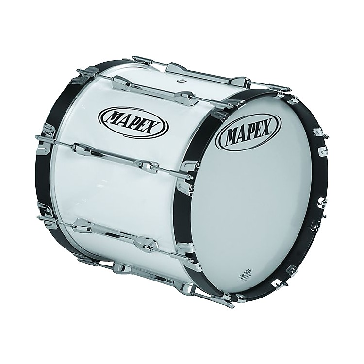 Mapex Qualifier Bass Drum Snow White 16 x 14 in.