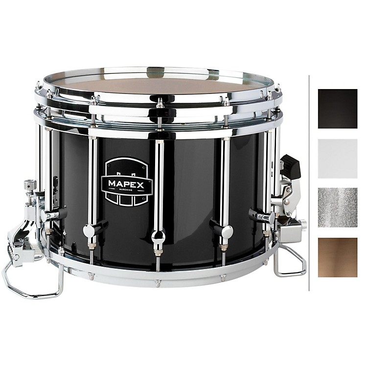 Mapex Quantum Agility Snare Drum 14 x 10 in. Gloss Black/Gloss Chrome Hardware