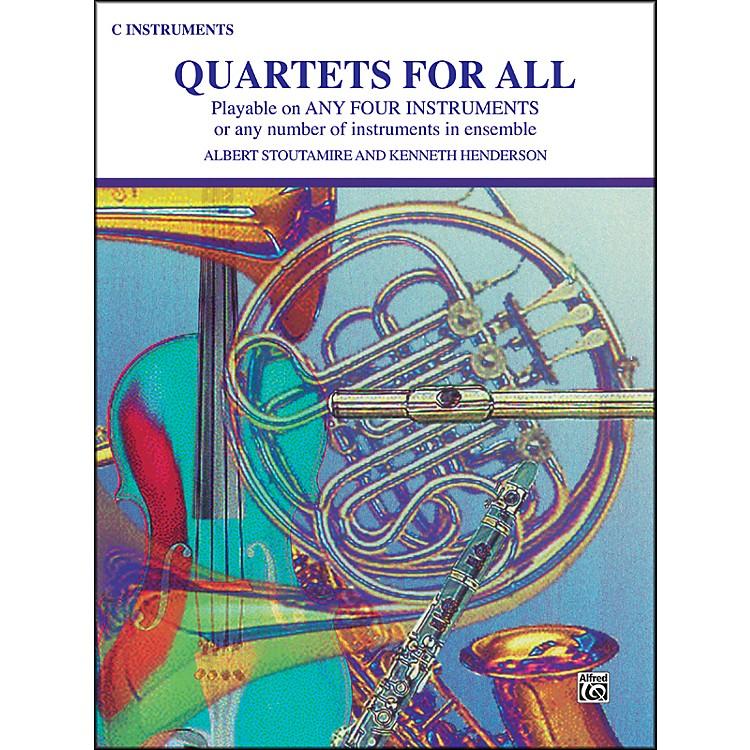AlfredQuartets for All C Instruments