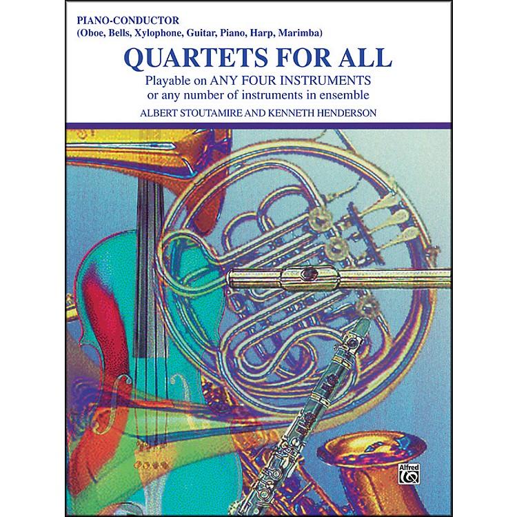 AlfredQuartets for All Piano/Conductor