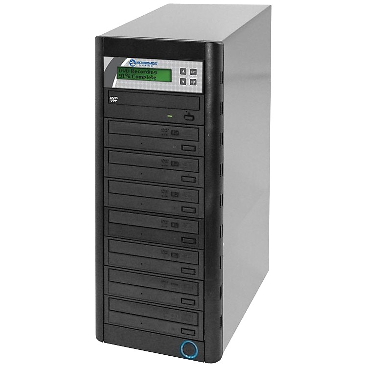 MicroboardsQuic Disc DVD H127, Economy CD/DVD Duplicator 1:7 with Hard-Drive