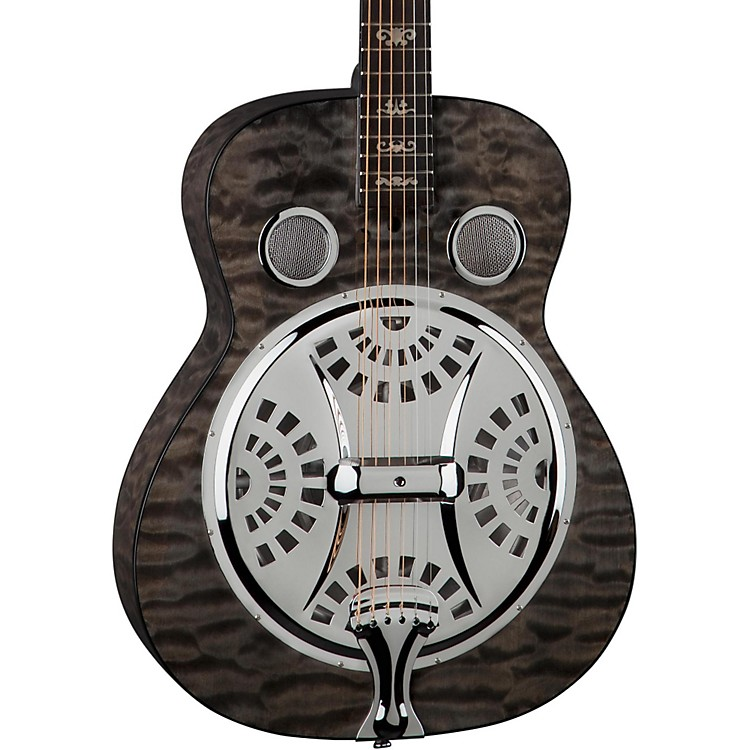 Dean Quilt Trans Black Spider Resonator Trans Black