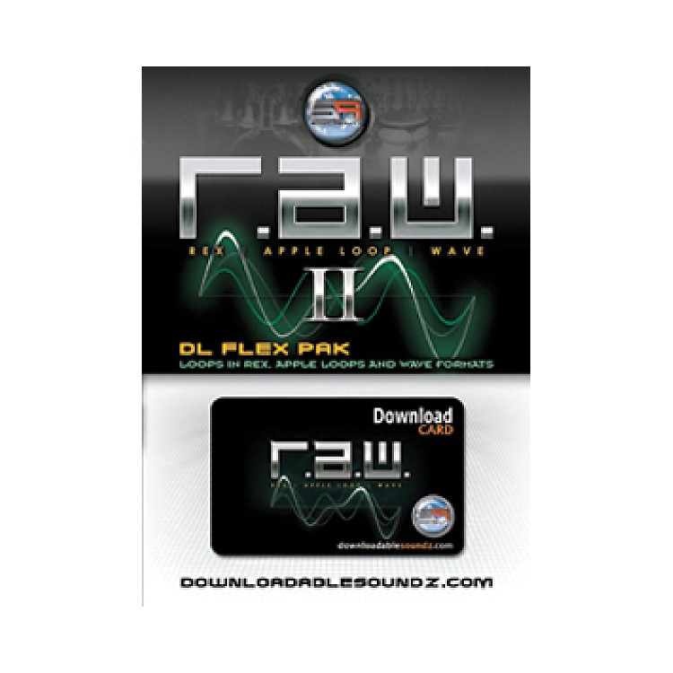 Sonic Reality R.A.W. 2 DL Flex Pak with Download Card