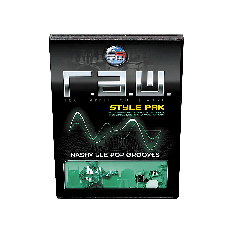Sonic RealityR.A.W. Style Pack - Nashville Pop Grooves Loops Collection Software