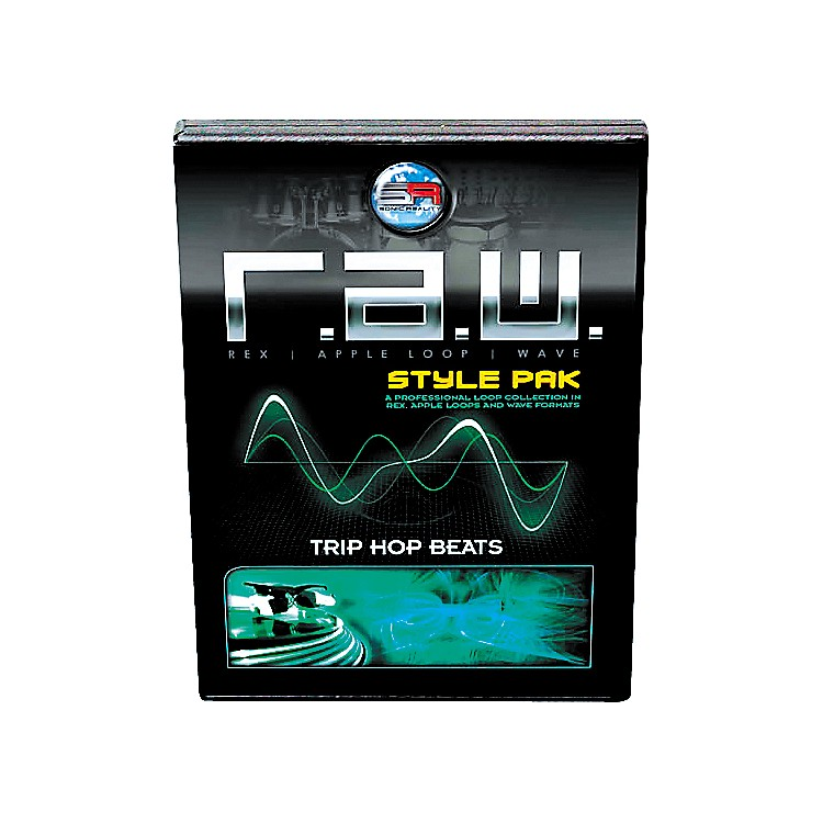 Sonic Reality R.A.W. Style Pack - Trip Hop Beats Loops Collection Software