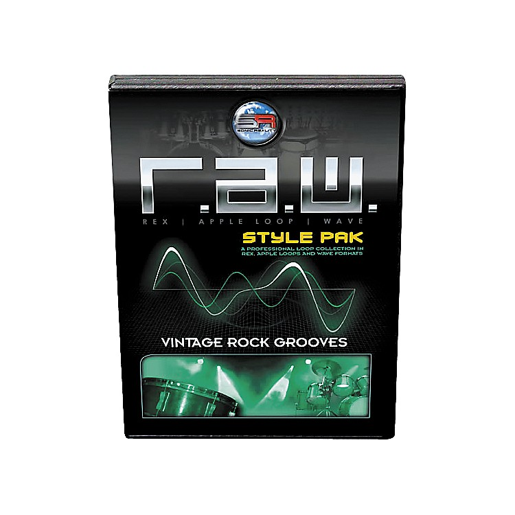 Sonic RealityR.A.W. Style Pack - Vintage Rock Grooves Loops Collection Software