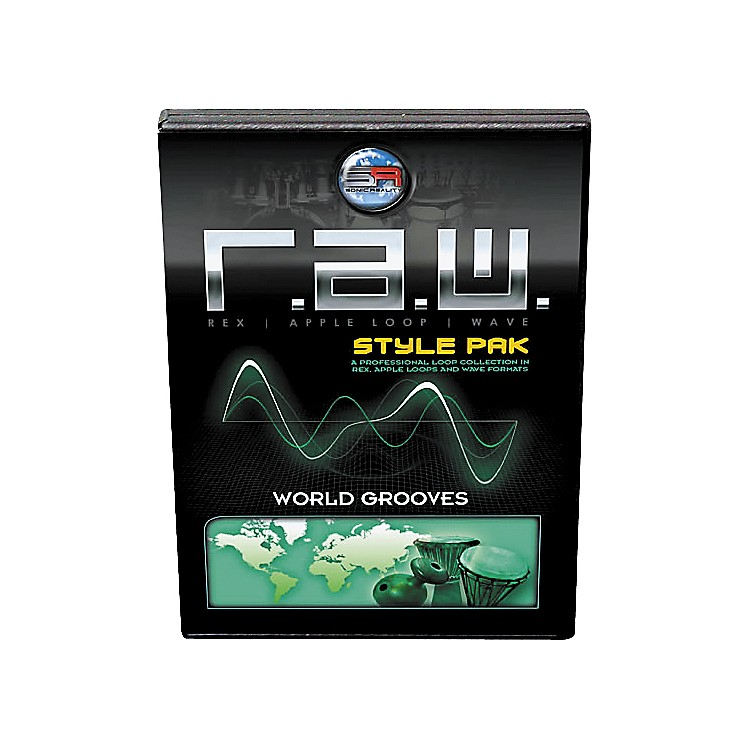 Sonic Reality R.A.W. Style Pack - World Grooves Loops Collection