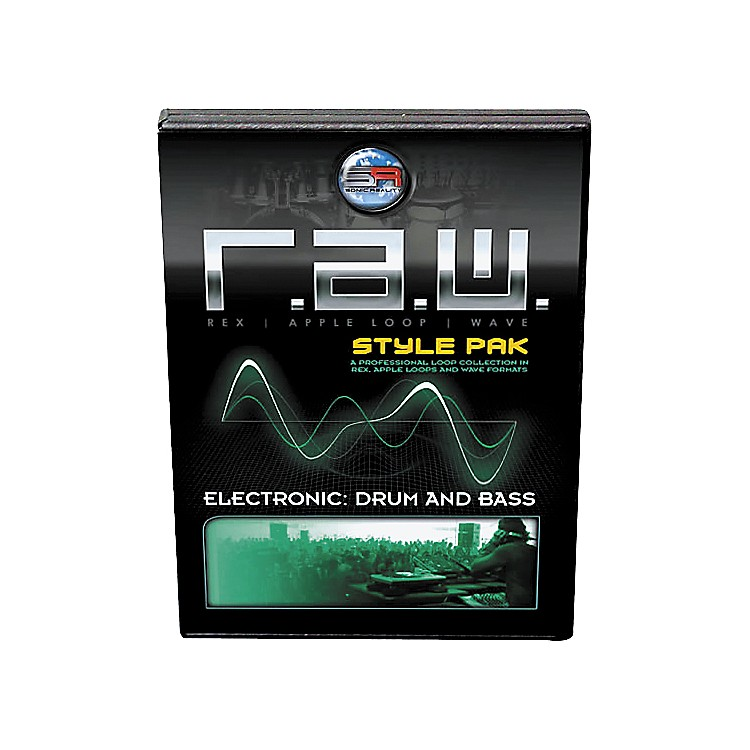 Sonic RealityR.A.W. Style Pak - Electronic: Drum and Bass Loops Collection Software