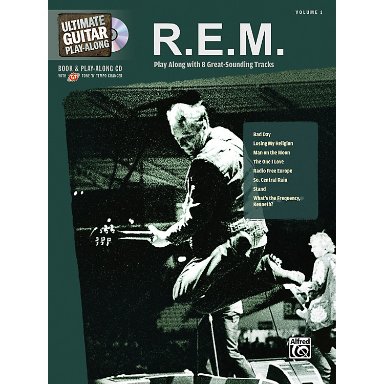 Hal Leonard R.E.M. - Guitar Play Along Book with CD