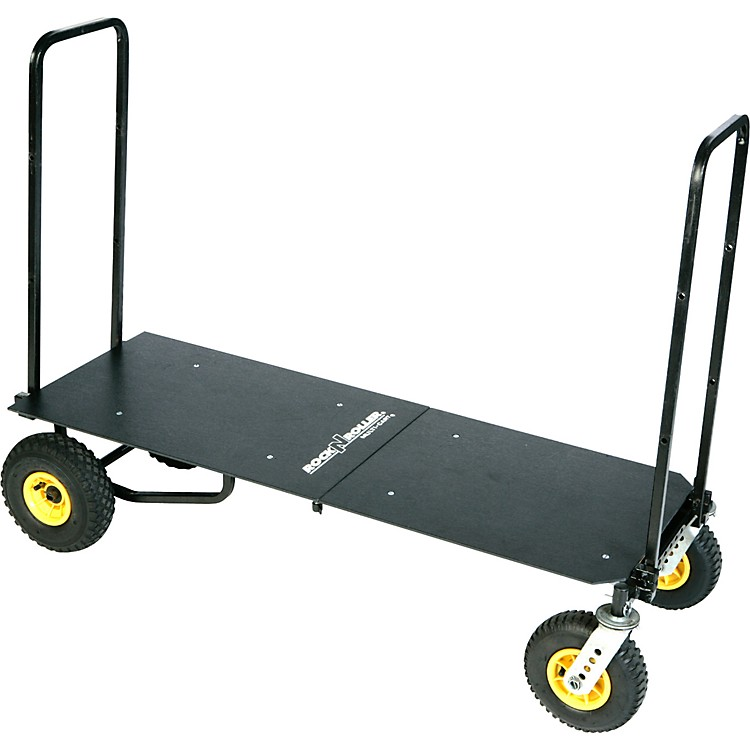 Rock N RollerR12 Multi-Cart 8-in-1 Equipment Transporter Cart With Deck