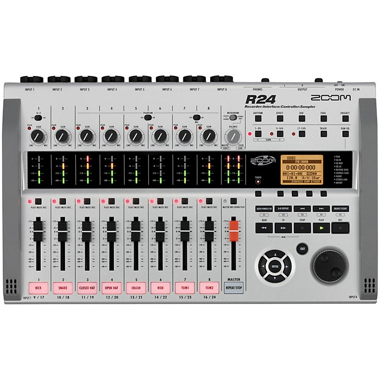 Zoom R24 Multitrack Recorder/Interface/Controller/Sampler