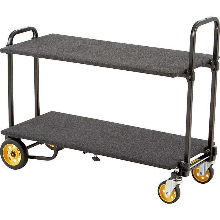 Rock N RollerR2RT 8-in-1 Micro Multi-Cart With Shelf And Deck