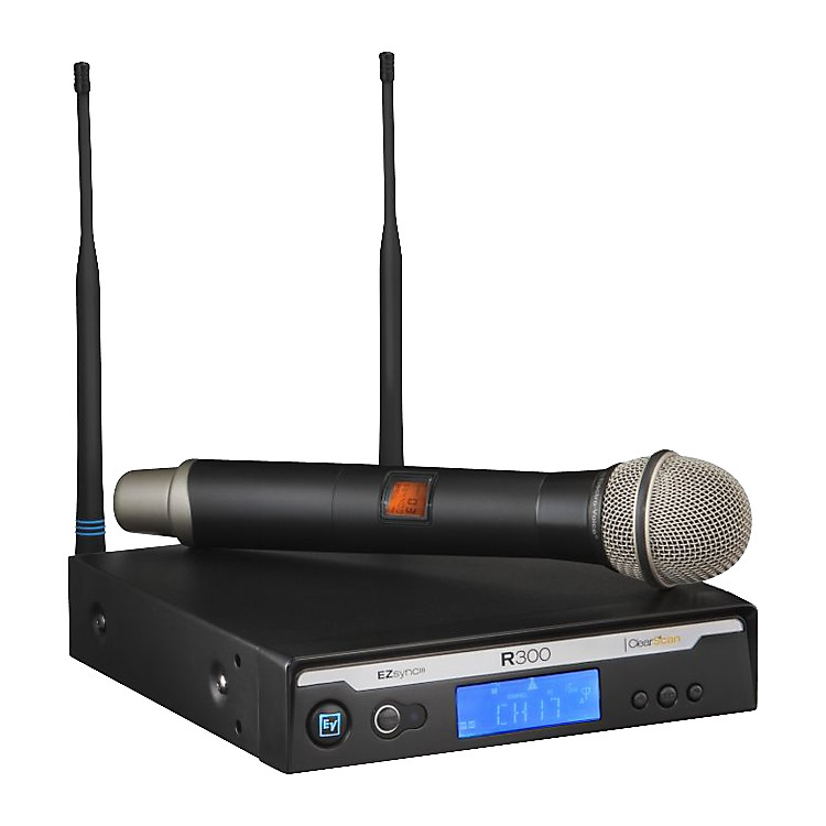 Electro-VoiceR300 Handheld Wireless System in CaseBand A (516-558 MHz)