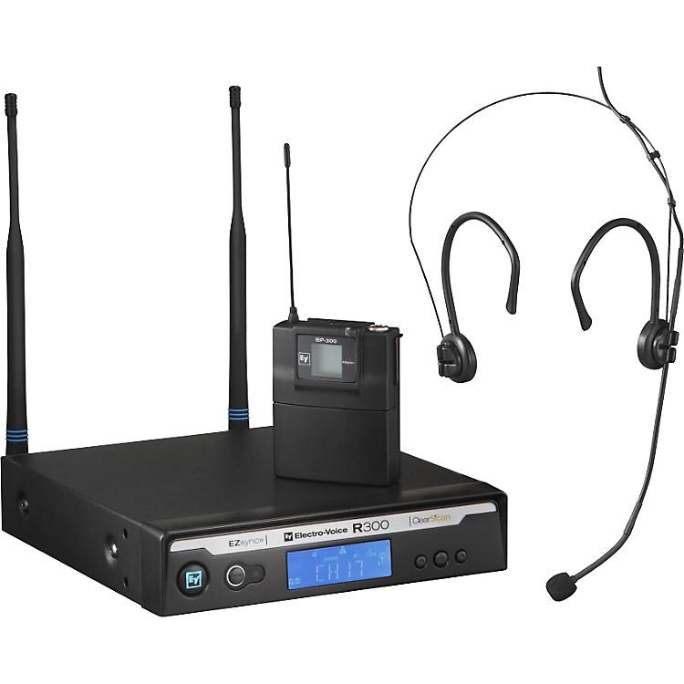 Electro-VoiceR300 Headworn Wireless System in CaseBand A (516-558 MHz)