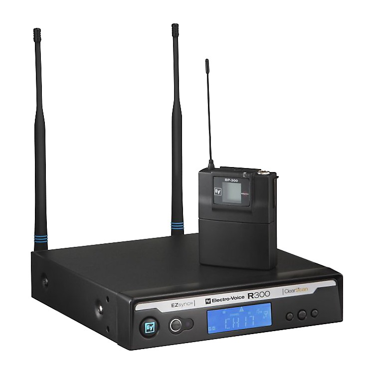 Electro-Voice R300 Lavalier Wireless System in Case Band B