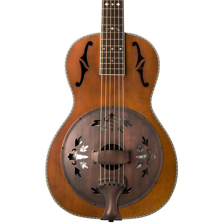 WashburnR360K Parlor Resonator Guitar with 1930's Style InlayVintage