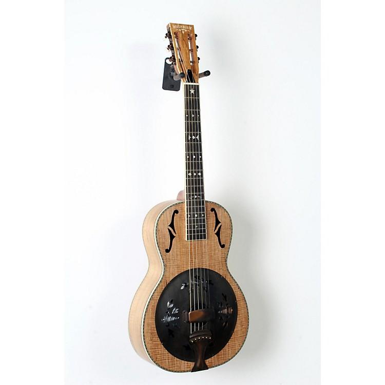 WashburnR360SMK Parlor Resonator Guitar with 1930's Style InlaySatin Natural888365834641