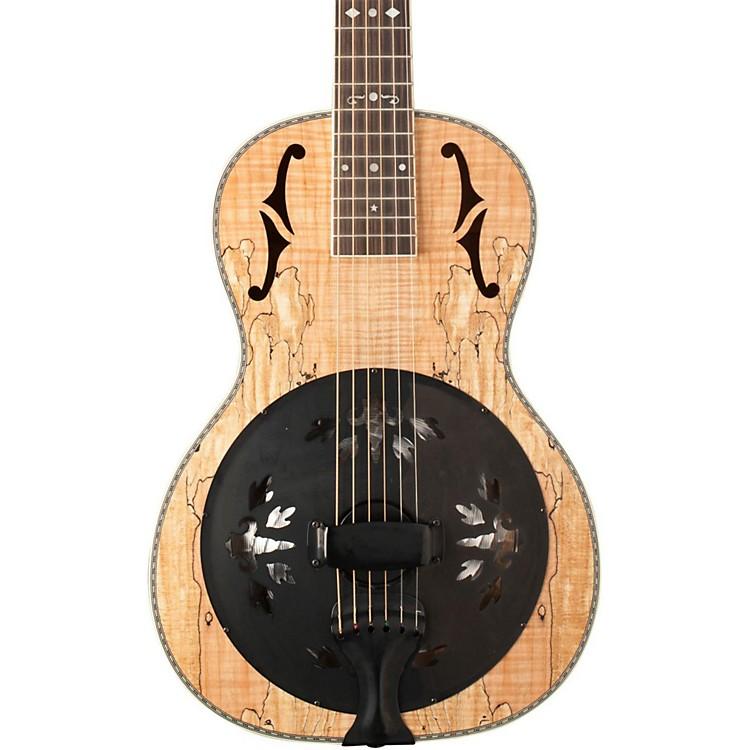 WashburnR360SMK Parlor Resonator Guitar with 1930's Style InlaySatin Natural