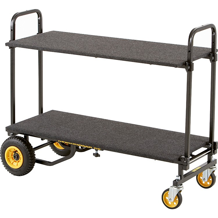 Rock N RollerR6RT 8-in-1 Mini Multi-Cart with Shelf and Desk