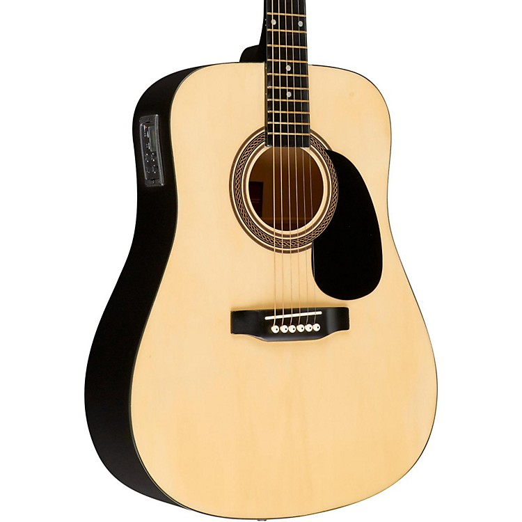 RogueRA-090 Dreadnought Acoustic-Electric GuitarNatural