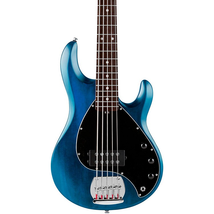 Sterling by Music ManRAY5 5-String Electric Bass GuitarSatin BlueRosewood