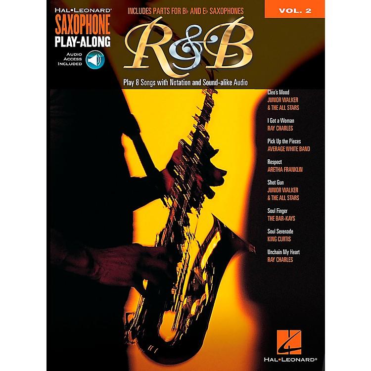 Hal LeonardR&B - Saxophone Play-Along Vol. 2 Book/CD