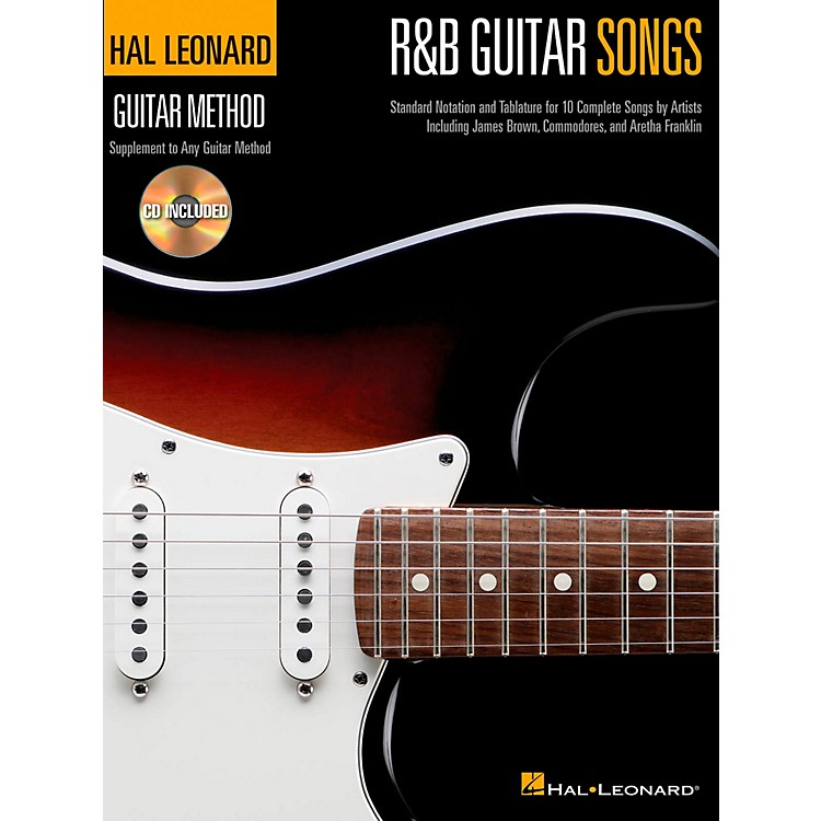 Hal Leonard R&B Guitar Songs - Hal Leonard Guitar Method Book/CD