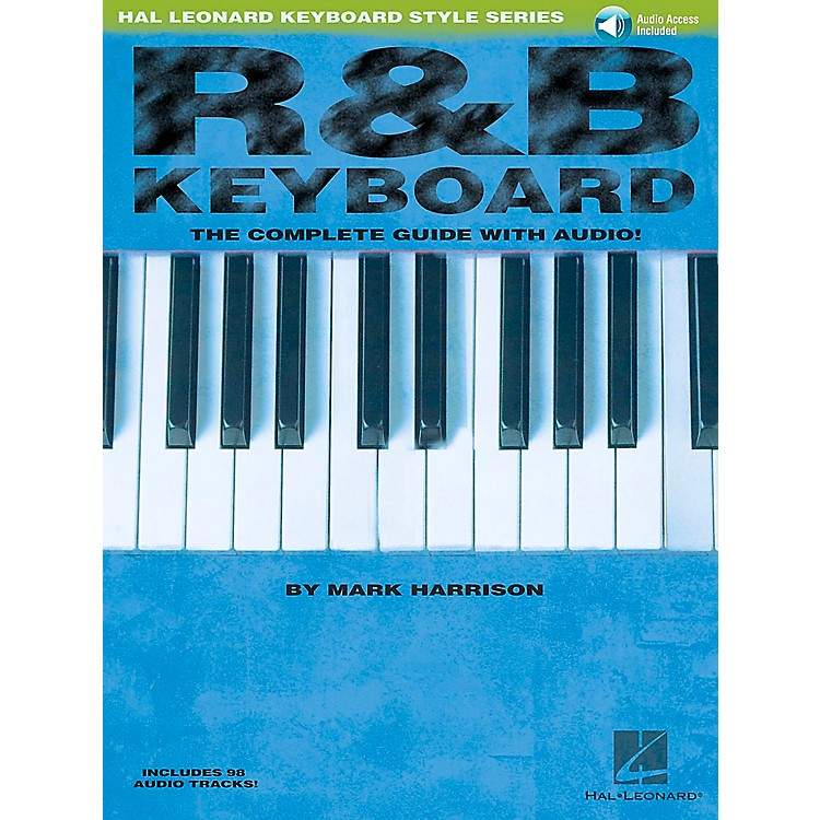 Hal Leonard R&B Keyboard Book/CD Hal Leonard Keyboard Style Series
