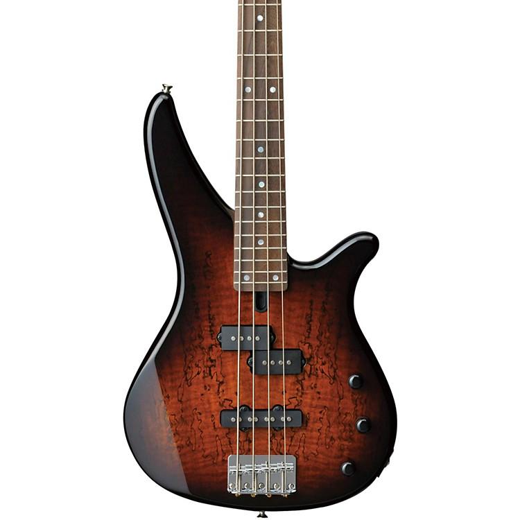 YamahaRBX170EW Electric Bass Guitar with Exotic Mango Wood Top