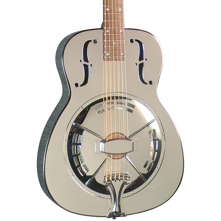 Regal RC-4 Metal Body Duolian Resonator Guitar Antique nickel-plated