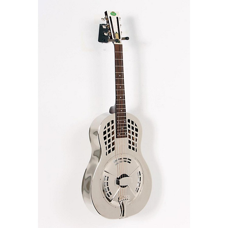 RegalRC-55 Nickel-Plated Body Tricone GuitarNickel-plated, Bell Brass body888365058757