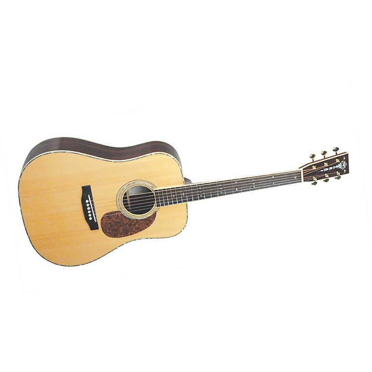 Recording King RD-227 All Solid Wood Dreadnought Acoustic-Electric Guitar