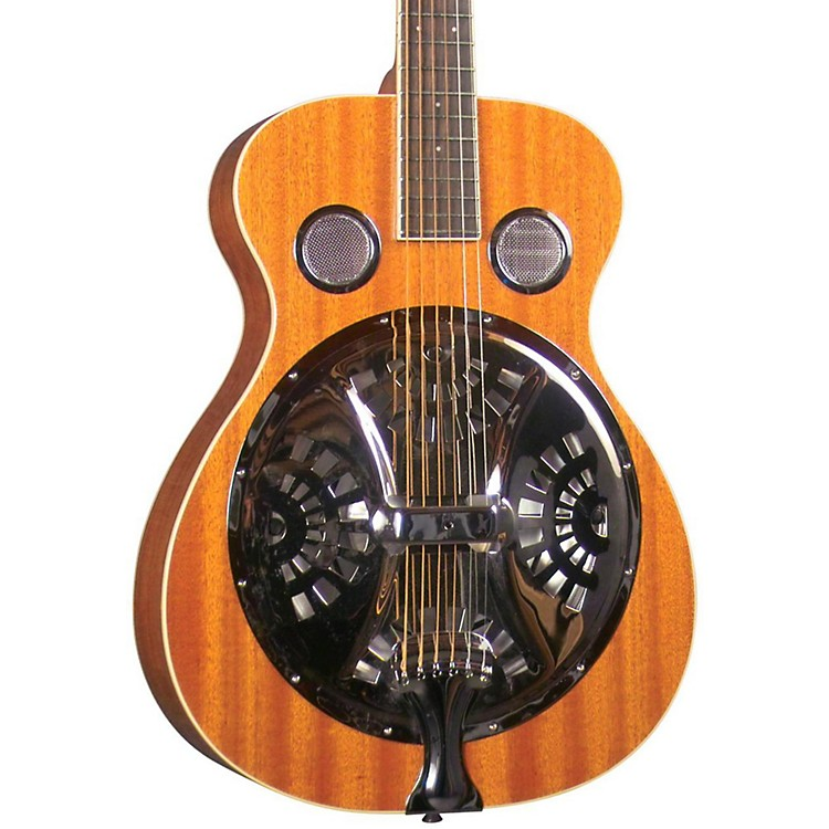 RegalRD-30M Round Neck Resonator GuitarMahogany top