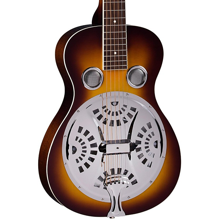 Regal RD-40 Resonator Vintage Sunburst Square Neck