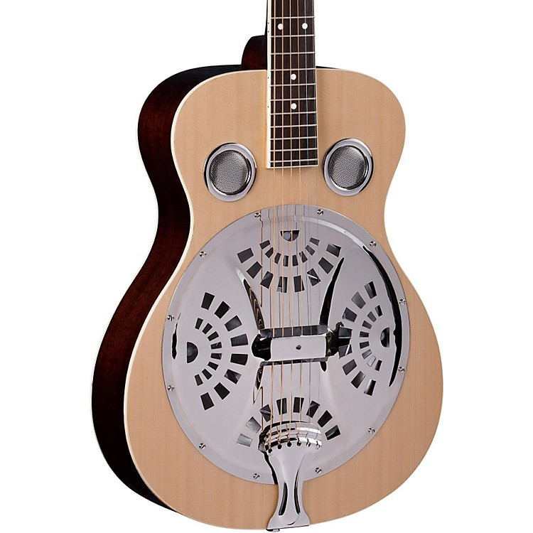 RegalRD-40 Round Neck Resonator Guitar
