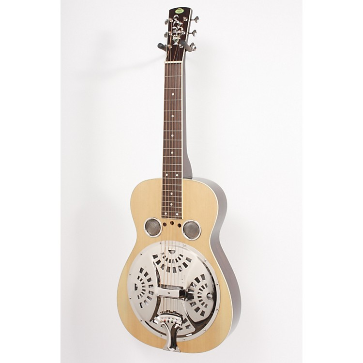Regal RD-40S Square Neck Resonator Guitar Natural 886830617065