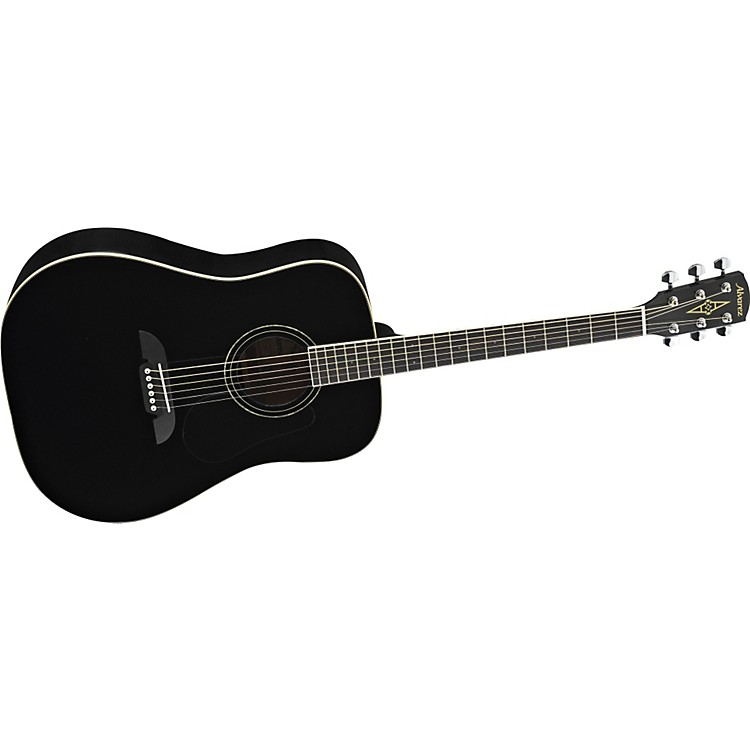 Alvarez RD16 Regent Series Dreadnought Acoustic Guitar Black Dreadnought