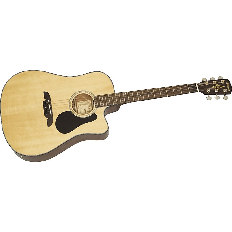 AlvarezRD210C Regent Cutaway Dreadnought Acoustic-Electric GuitarNatural