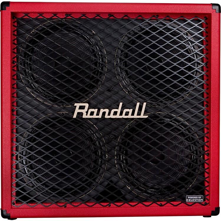 RandallRD412-V 4x12 Guitar Speaker CabinetRed