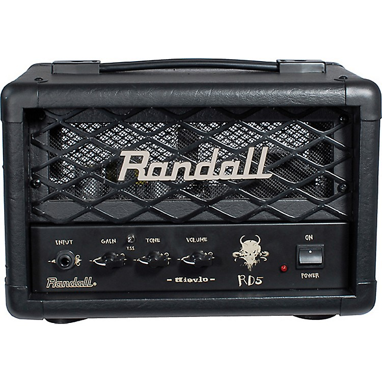 Randall RD5H Diavlo 5W Tube Guitar Head Black