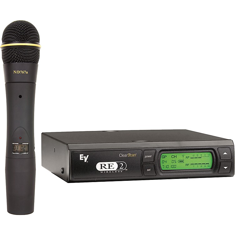 Electro-VoiceRE2-N7 Wireless System with EV 767a Dynamic Element