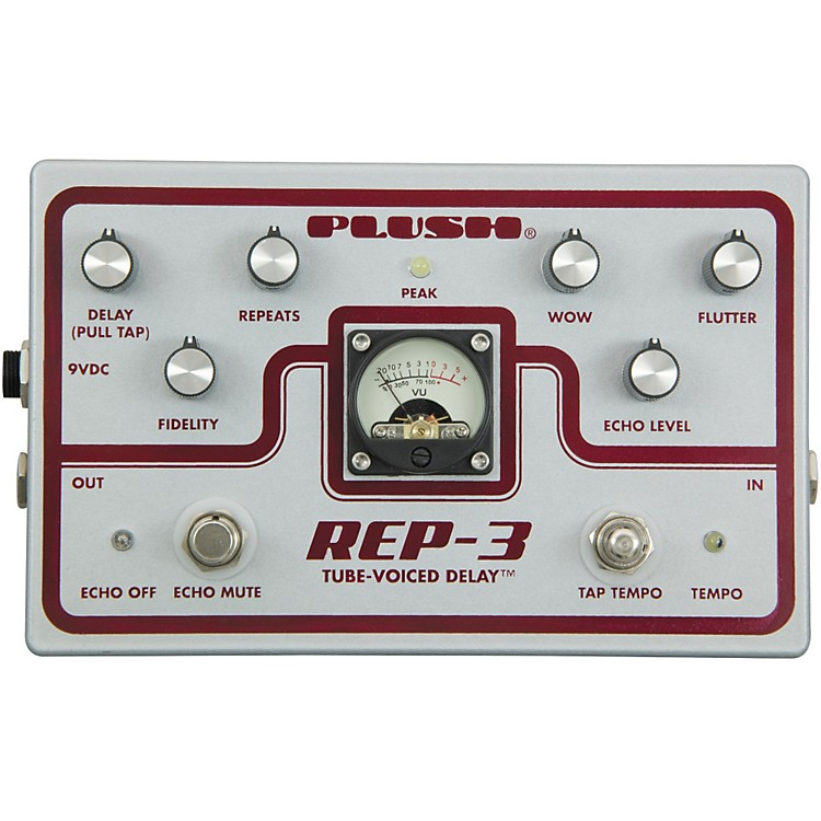 PlushREP-3 Solid State Delay Guitar Effects Pedal