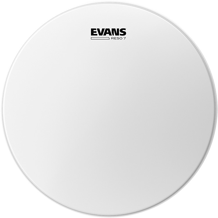 Evans RESO 7 Coated Resonant Tom Drumhead 8 in.