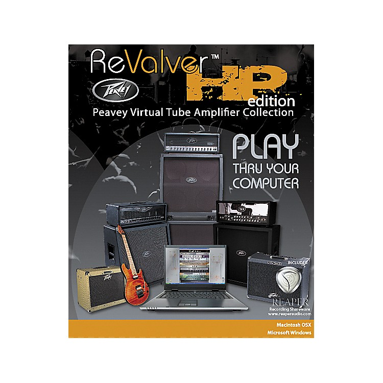 PeaveyREVALVER HP Virtual Amp Modeling Software
