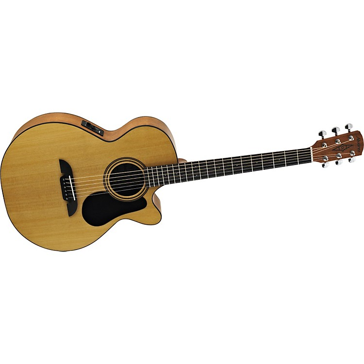 Alvarez RF12CE Regent Series Folk/OOO Size Acoustic-Electric Cutaway Guitar Natural Folk