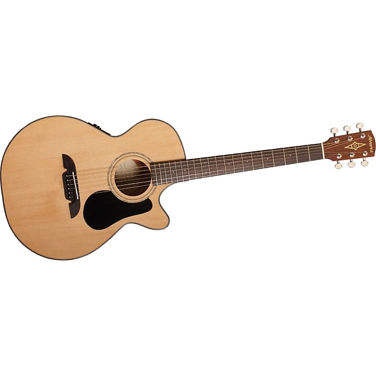 AlvarezRF16CE Regent Series  Folk/OOO Size Acoustic-Electric Cutaway Guitar